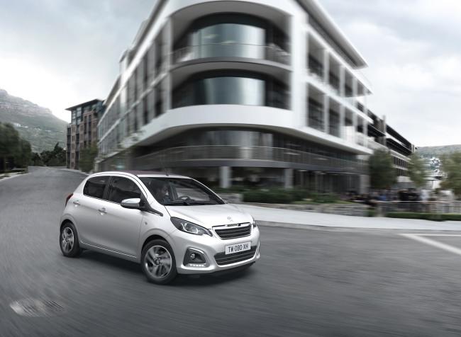 Neuer Peugeot 108 – Der Großstadtlöwe greift an