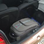 Kaum Platz für das Weekend-Gepäck im Peugeot