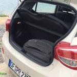 Fit für den Urlaub. Hyundai Kofferraum
