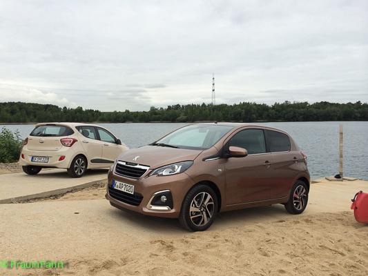 Gut, dass wir verglichen haben. Peugeot 108 gegen Hyundai i10