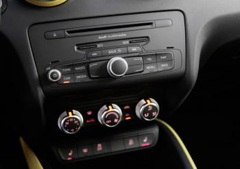 Audi A1 Sportback-Premium, wohin man schaut
