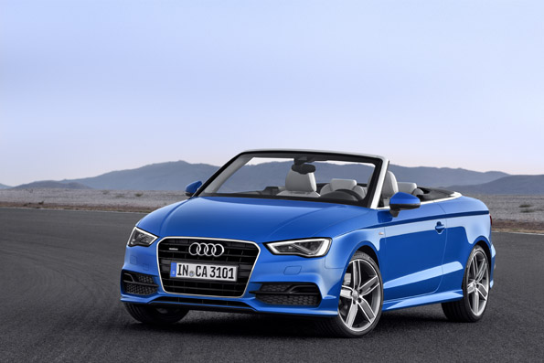 Neues Audi A3 Cabriolet – Audi verlängert den Sommer