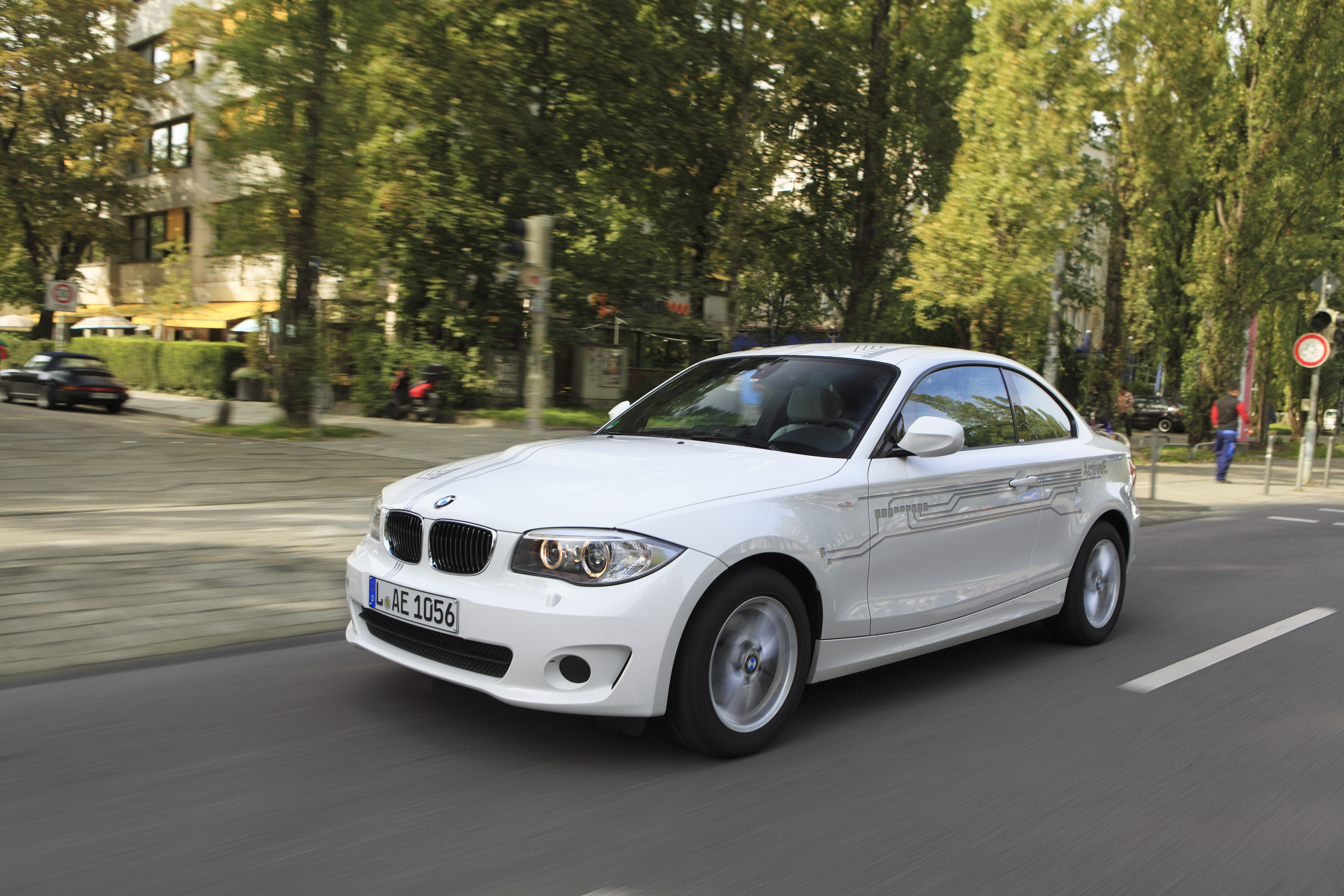 BMW  ActiveE-Mit Spannung erwartet
