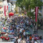 Massenauflauf in Kitzbühel zum Abschluß