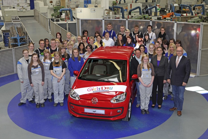 Girl's day bei Volkswagen