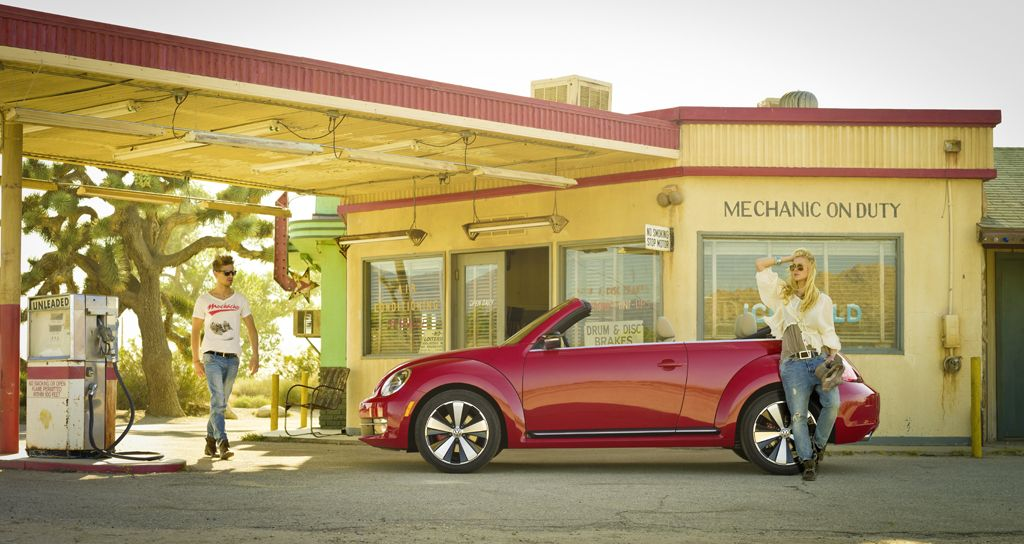 Volkswagen Beetle Cabriolet – And the Beat goes on