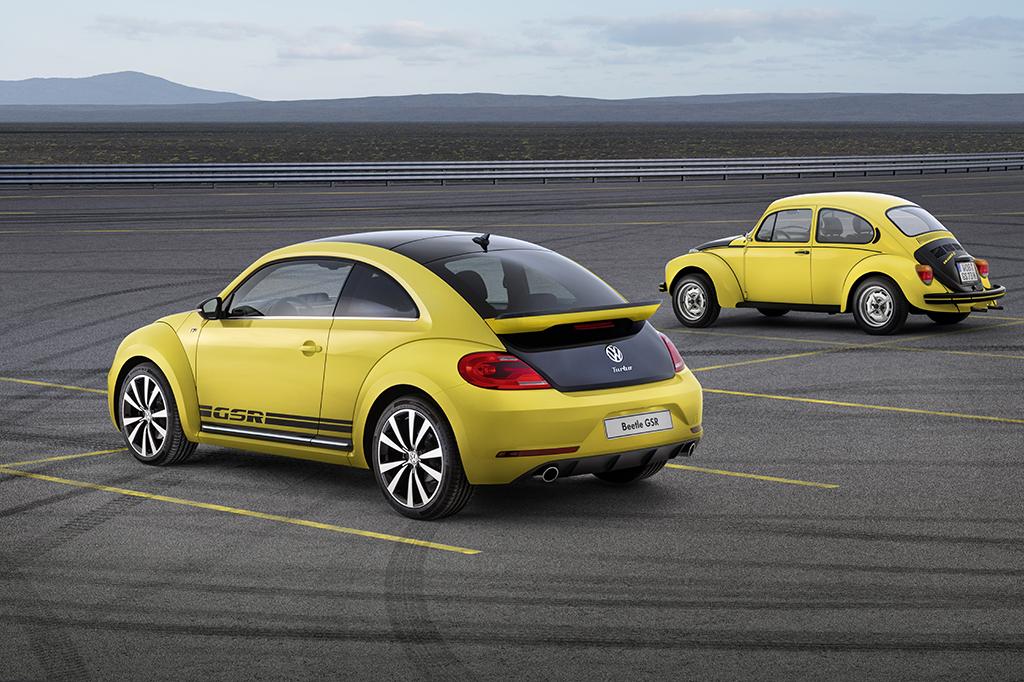 Rückkehr des Gelb schwarzen Krabbeltiers-Beetle GSR jetzt bestellbar