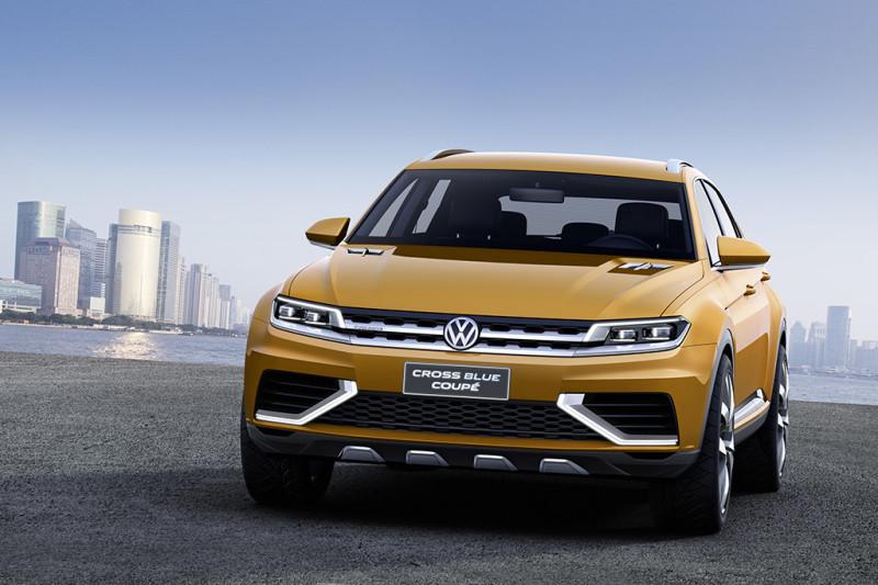 Volkswagen SUV-Studie CrossBlu