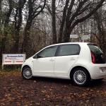 Zeit für einen kleinen Ausflug mit dem Volkswagen UP