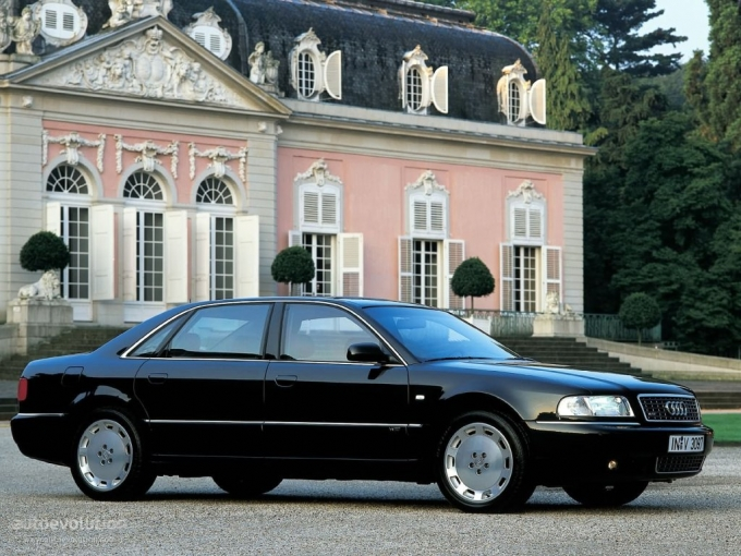 Audi A8 lang- Eleganz zum kleinen Preis