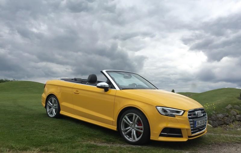 Offenes Geheimnis gelüftet-das neue Audi A3 Cabriolet