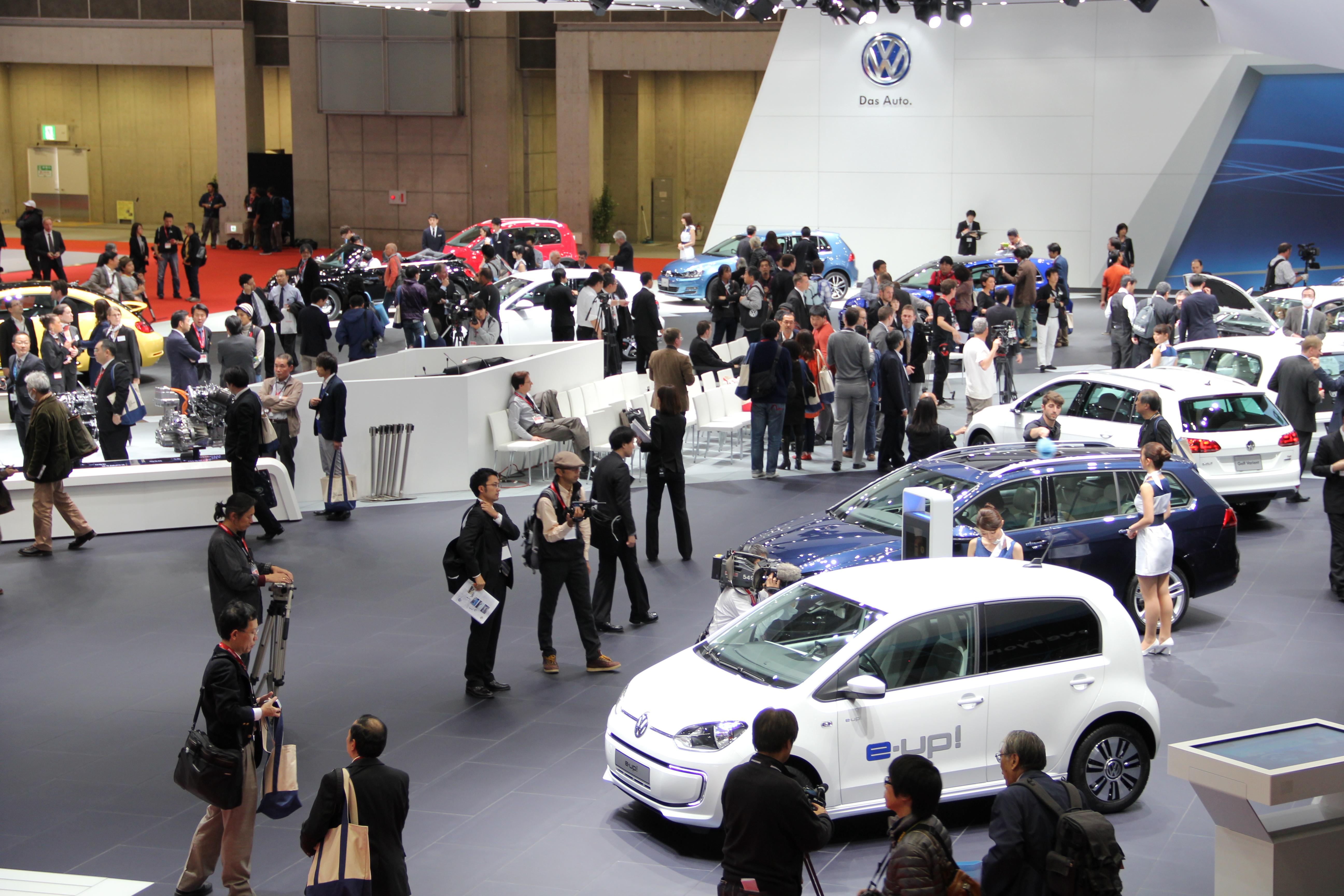 Volkswagen in Tokio