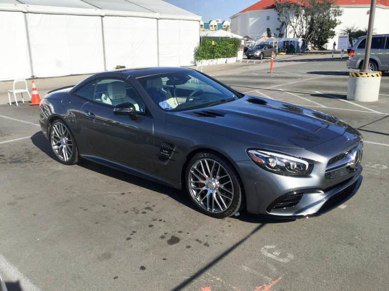 Der neue Mercedes SL- Life in Californien
