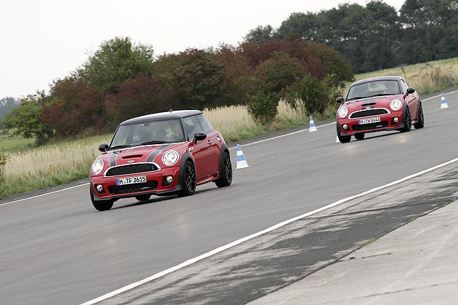 Mini Cooper im Vergleich-Maxi Fahrspaß garantiert