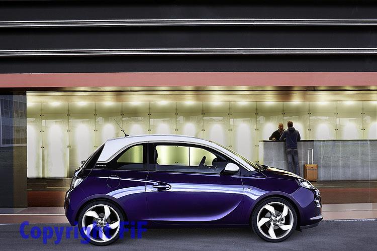 Elegant geht auch-Opel Adam