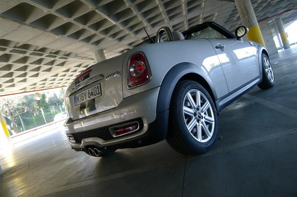 Mini Roadster- Sicherheit durch Überrollbügel