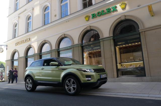 Range Rover Evoque-Heute ein Star