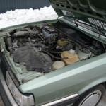 Verschweigt nichts - Motorraum im Originalzustand