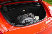 Porsche Boxster Kofferraum