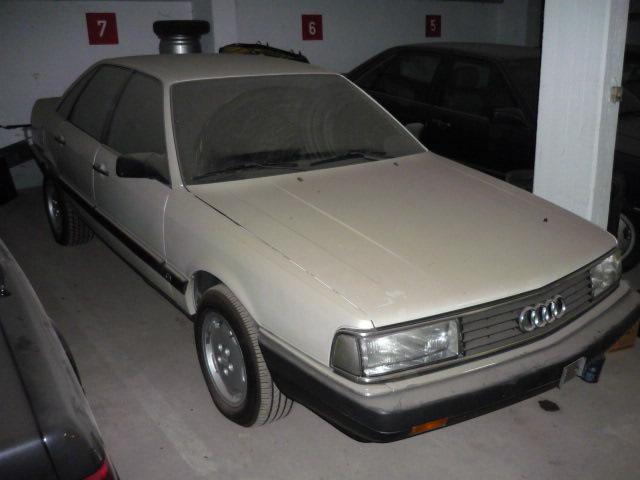 Audi V8 Versuchswagen aufgetaucht