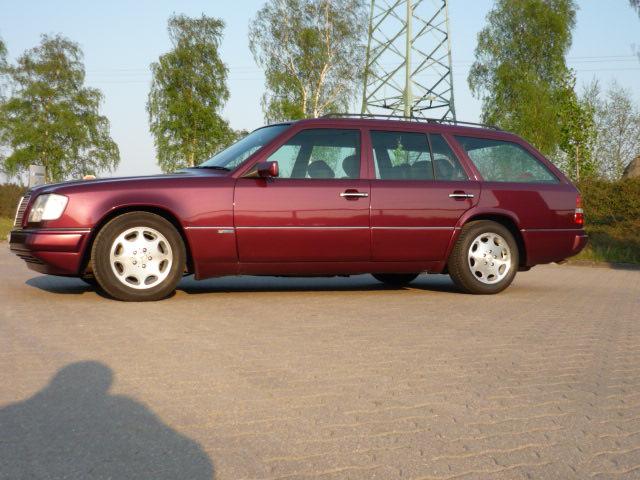 Mercedes-Benz Kombi – Wurstwagen im Einsatz