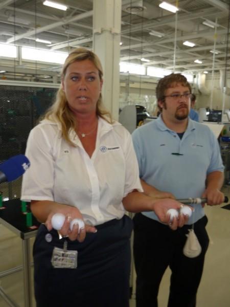 Volkswagen- Von Frauen lernen, in den Werken von VW die regel