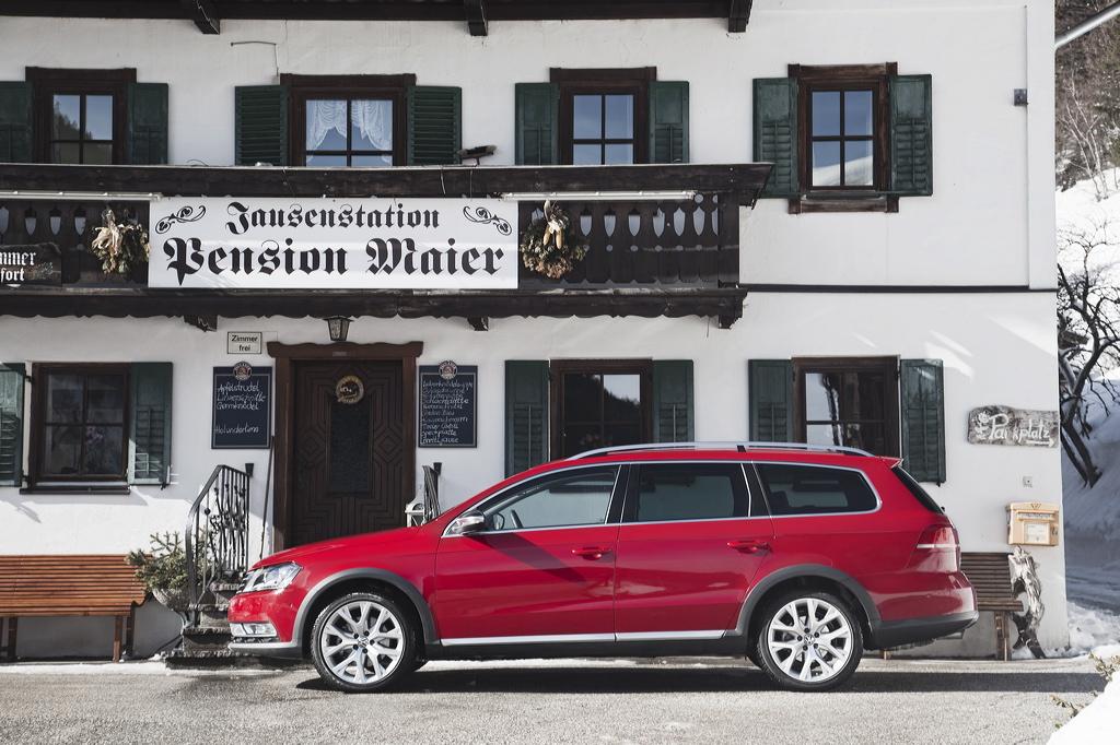 VW Passat Alltrack- Durch dick und dünn