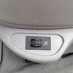 Versteckter Schalter für die Sitzheizung