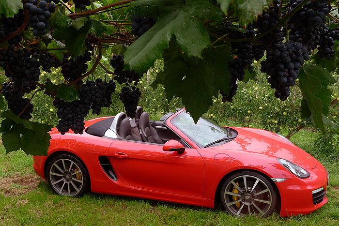 Porsche Boxster S – Im Auge des Orkans
