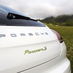 Der Panamera S E-Hybrid trägt grün