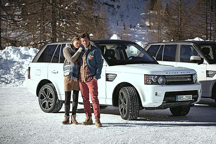 Range Rover Louis Trenker Edition – Fröhliche Landpartie