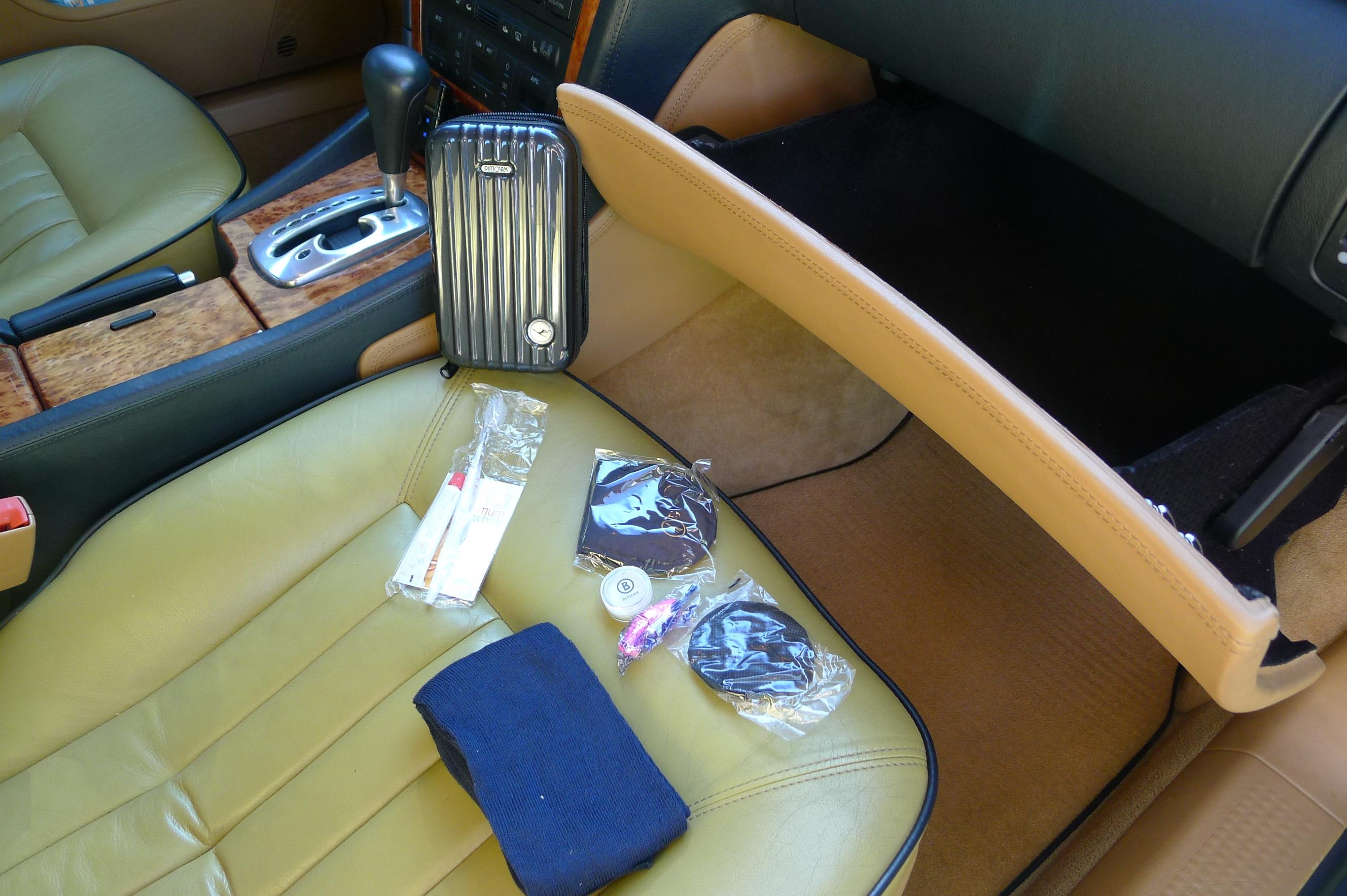 Business Class, auch im Auto