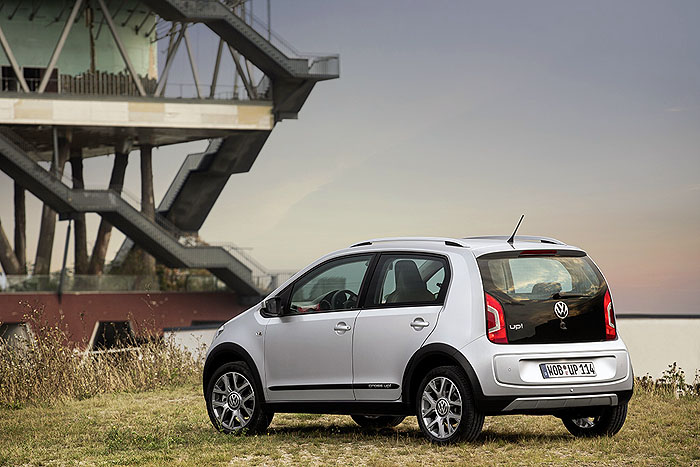 Der kann was up. Volkswagen up! in der Cross Version