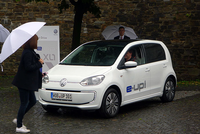 Volkswagen e-up! – Up geht's