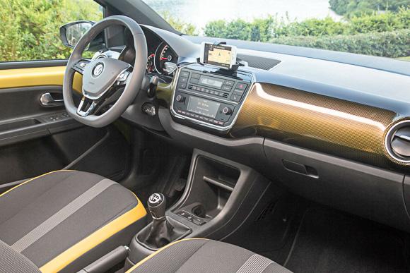 Volkswagen up! Innenraum